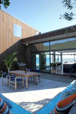 hahei beach rd, new residence; photo - McCoy Architecture